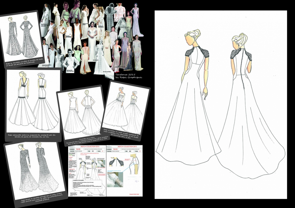 elodie grebert - cv   fashion designer