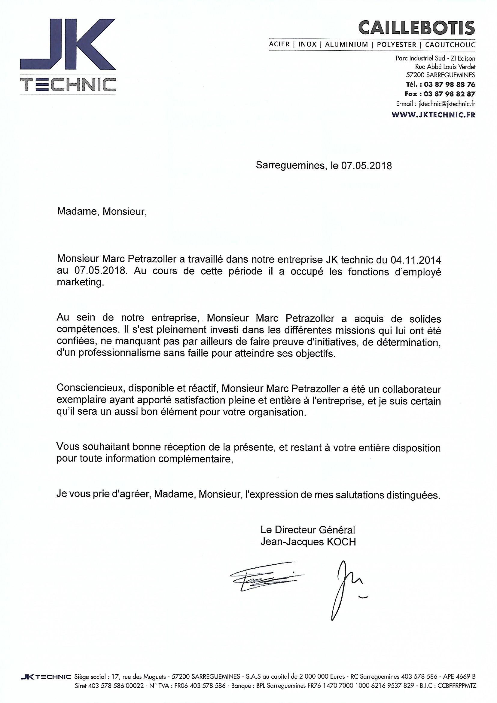 marc petrazoller - cv