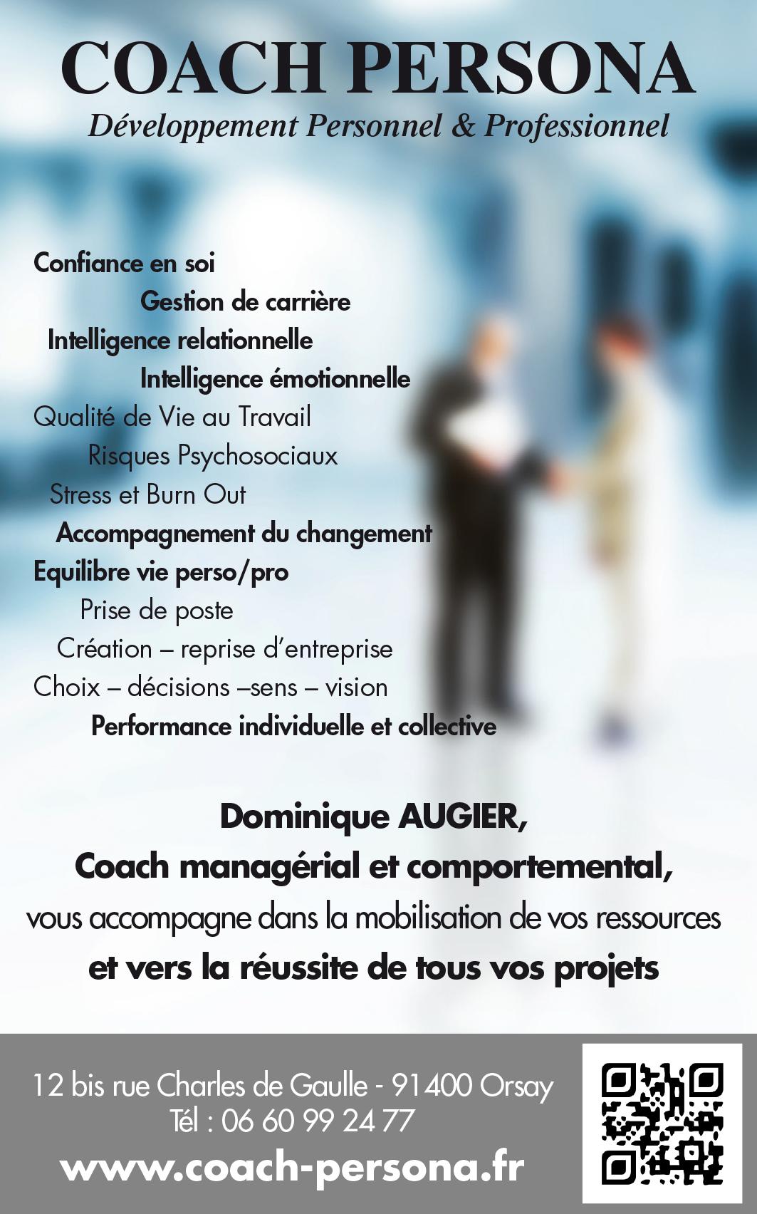 dominique augier - cv - consultant - formateur