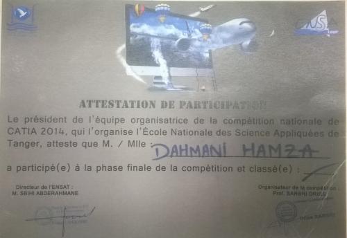 hamza dahmani - cv
