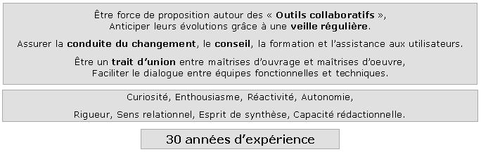 philippe guillard - cv - chef de projet