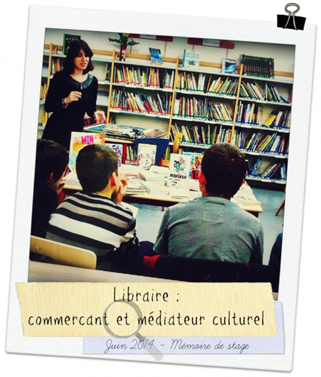 le r u00f4le du libraire comme m u00e9diateur culturel   m u00e9moire de master 2 - cv