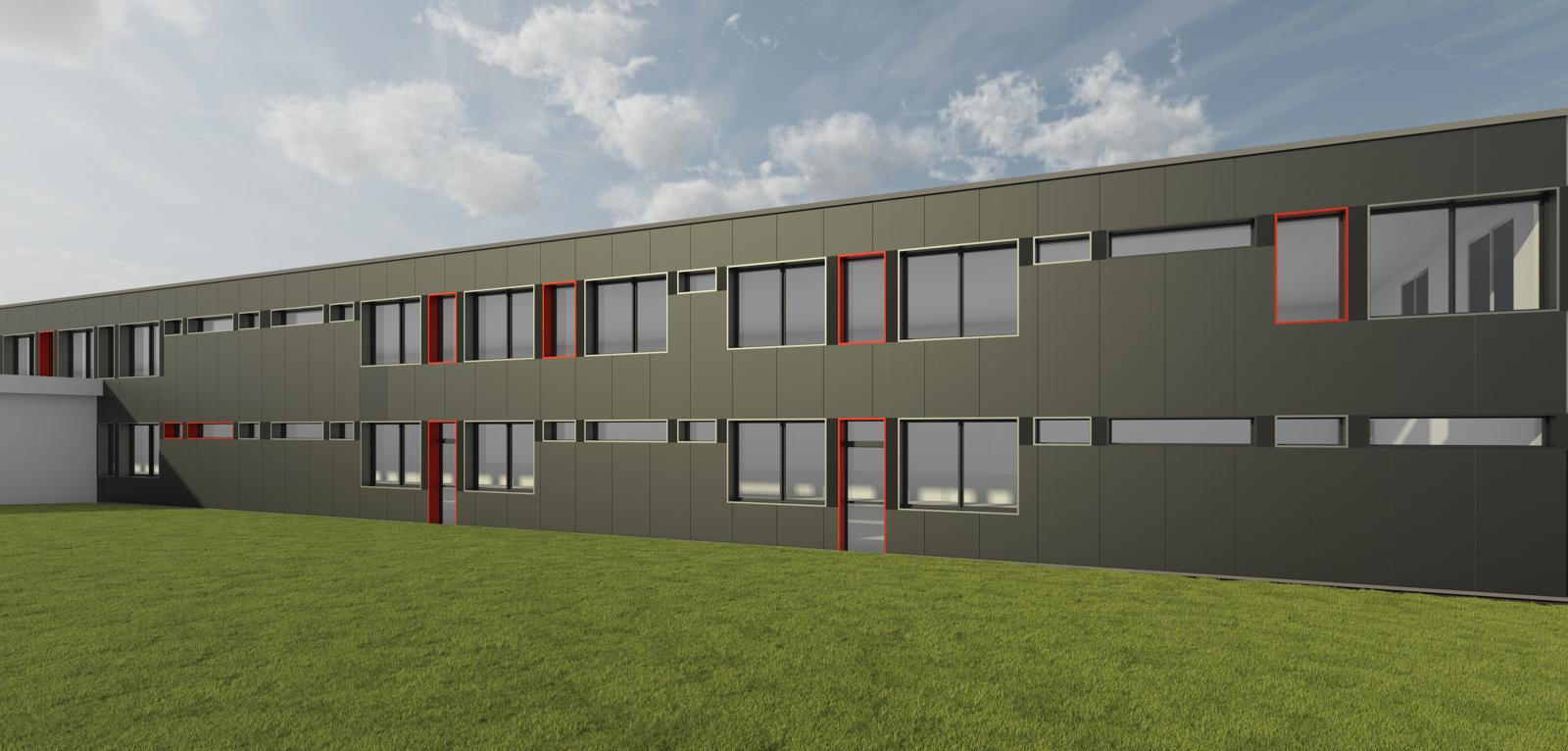 requalification de façades d'un batiment industriel - cv - gwénaël gosch