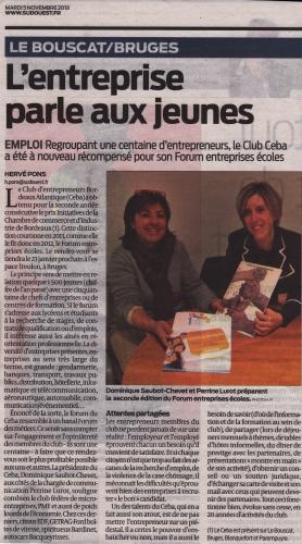 Conforexpo bordeaux 2013 prix