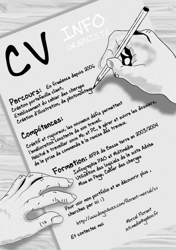 florent morcel - cv - infographiste